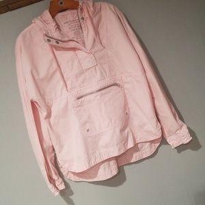 Pink windbreaker type jacket